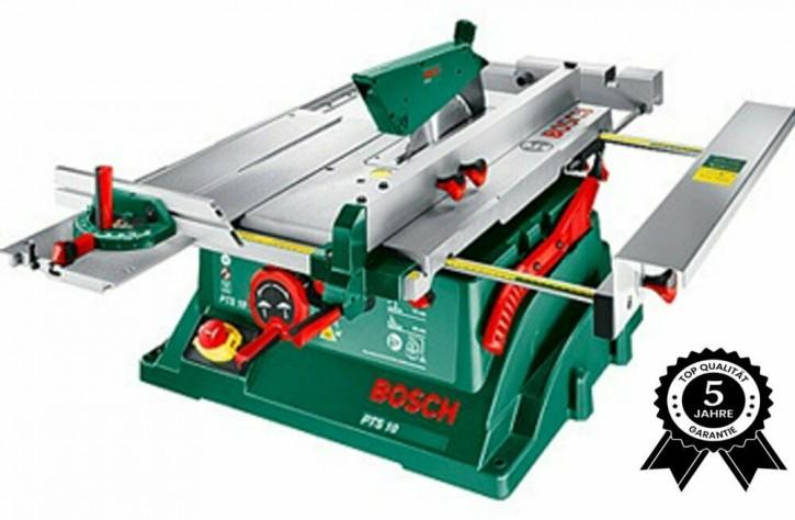 Bosch Tischkreissäge PTS 10 Spaltkeil Tischverlängerung Winkelanschlag Absauger