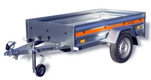 PKW Anhänger ECO 2010 Plus 750 kg 13 Zoll Bereifung + Stützrad