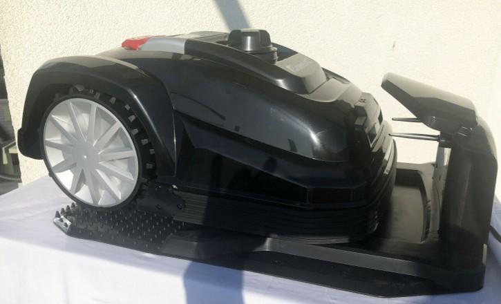 Rasenroboter Mähroboter Rasenmäher Roboter Automover black 600qm Diebstahlschutz