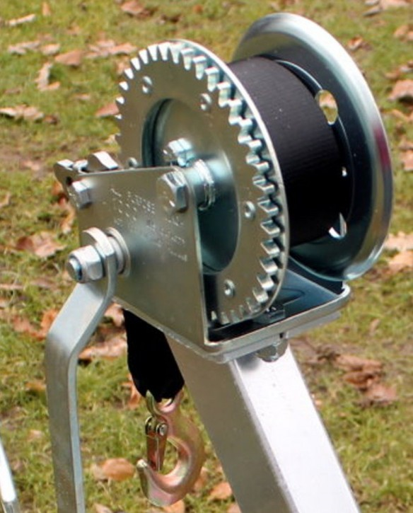 Gurtwinde Slipwinde für Windenstand Bootstrailer Trailer