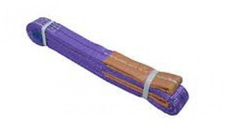 Hebegurt 1 t Nutzlänge 2 m SF 7 violett Hebeschlinge verstärkte Enden robust