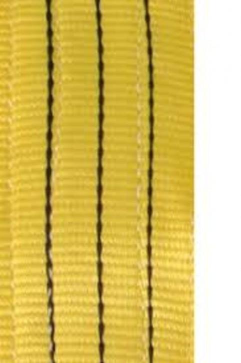 Hebegurt 3 t Nutzlänge 1 m SF 7 gelb Hebeschlinge verstärkte Enden robust