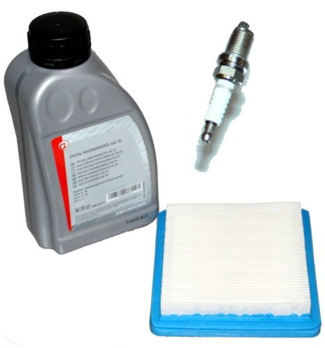 Inspektionskit Rasenmäher Honda Öl Zündkerze Luftfilter