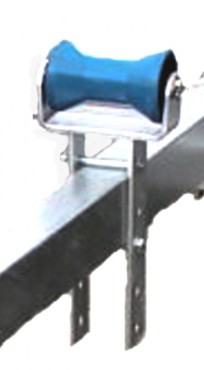 Kielrolle mit Halterung für Bootstrailer Trailer Bootsanhänger