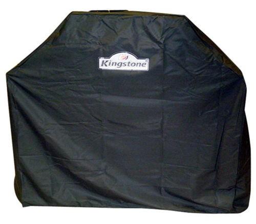 Kingstone Schutzhülle für 4 Brenner Gasgrill 122 x 54 x 123,4 cm anthrazit