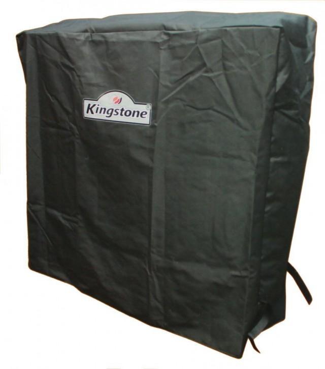Kingstone Schutzhülle für Kohlegrill 110 x 99 x 35 cm anthrazit