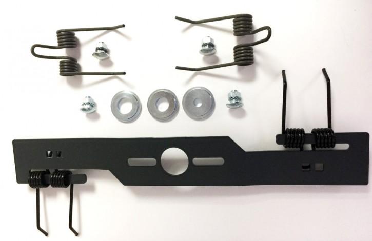 Kraftharke Quattro Rasenlüfter Vertikutierer Messer + Ersatzfedern