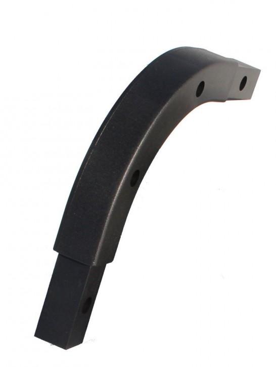Kunststoffecke Rundecke für Stema Hochspriegel schwarz