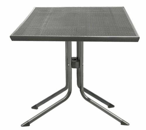 Mec-Mesh Bistrotisch Gartentisch Tisch Outdoor Esstisch 70 x 70