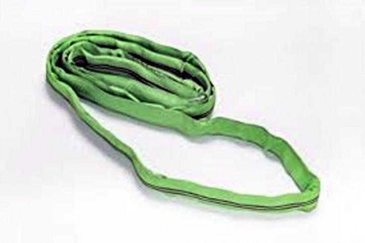 Rundschlinge 2 t Nutzlänge 2 m Umfang 4 m SF 7 grün robust Hebegurt