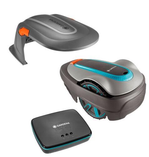 Gardena Sileno 500 smart Rasenroboter Mähroboter + Garage 15020-20