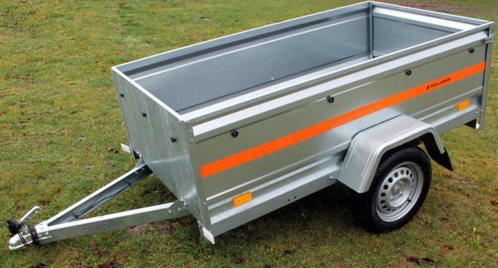 PKW Anhänger ECO 2010 XL 750 kg 13 Zoll Extra Hohe Bordwand 52,5 cm
