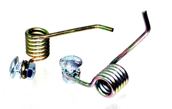 Ersatzfeder Ersatzfedern 2er Set für Kraftharke Vertikutiermesser