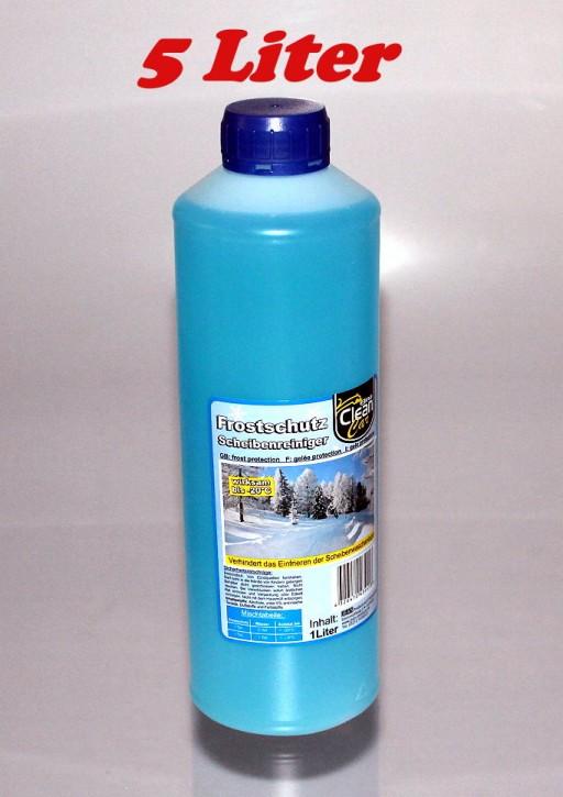 5 x 1 L Scheibenfrostschutz Frostschutz 2,0/1 Liter