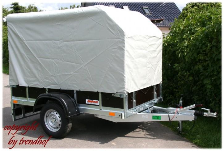 Neptun PKW Anhänger GN127 1300 kg Trailwood Lux Anhänger gebremst kippbar