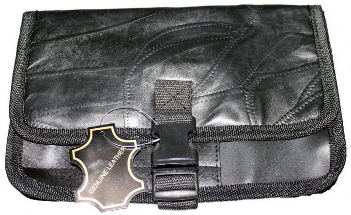 Organizer für Handschuhfach Pkw Leder schwarz Autotasche Handbuch
