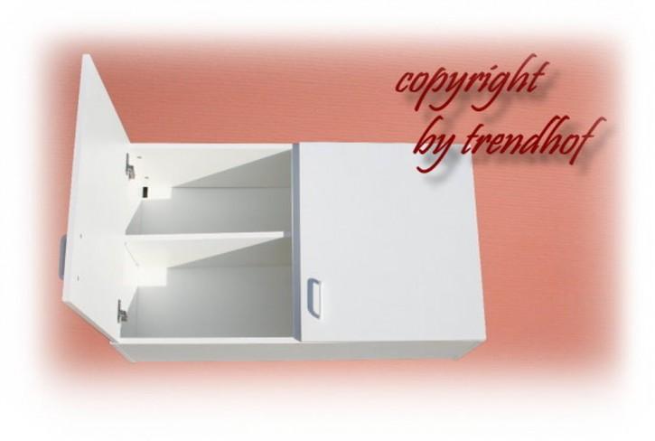Oberschrank Hängeschrank für Singelküche Küche Küchenschrank 1 m weiss