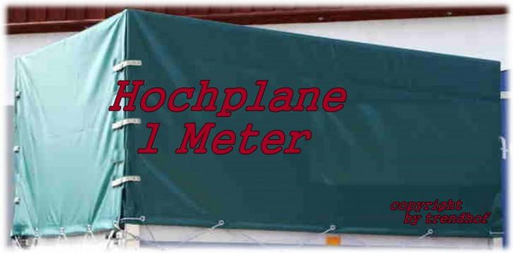 STEMA Spriegel + Plane Hochplane 1 m für Anhänger grün