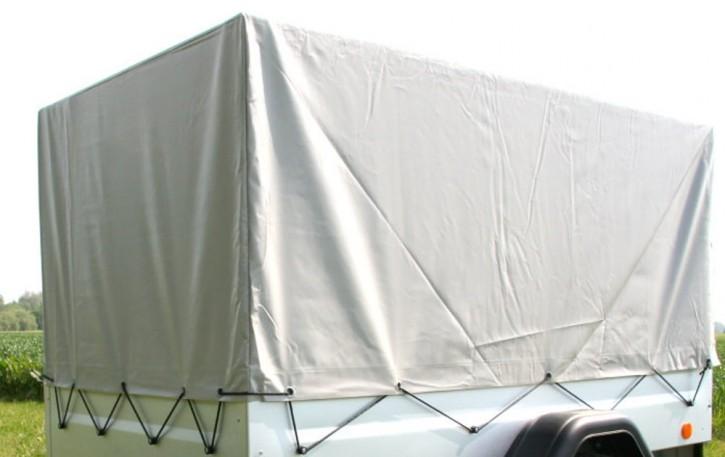 Spriegel + Plane gau 0,80 m für TPV Anhänger PKW-Anhänger