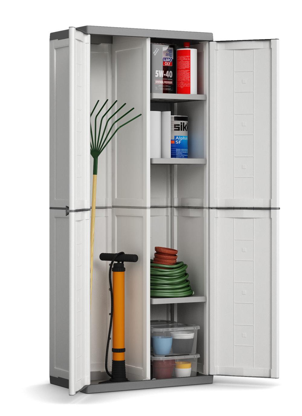 kunststoff schrank 2 t rig. Black Bedroom Furniture Sets. Home Design Ideas