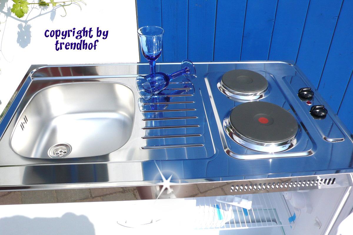 Miniküche Mit Kühlschrank Und Mikrowelle : Miniküche classic merida mit elektrokochfeld betzold