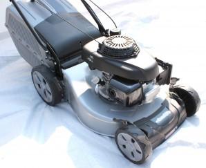 Benzin Rasenmäher 46 cm Honda GCV 160 mit Heckantrieb Fangsack