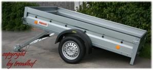 Neptun PKW Anhänger GN126 750 kg kippbar + Stützrad