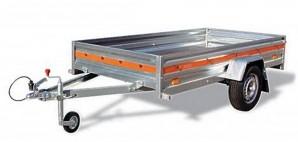 PKW Anhänger ECO 2012 750 kg 13 Zoll Bereifung Trailer Stützrad