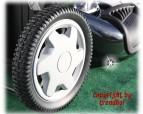 XXL Benzin Rasenmäher Honda GCV190 56 cm Frontantrieb Motormäher schwarz