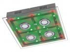 LED Deckenleuchte Leuchte Lampe + Fernbedienung Farbwechsler Deckenlampe DL