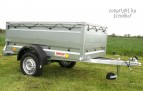 Bordwanderhöhung für Pkw-Anhänger 114 cm breit