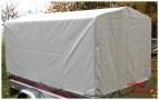 Hochplane 116cm Spitzdach 0,80 m für PKW-Anhänger