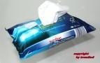 Solution Reinigungstücher für Autoscheiben Autospiegel Scheinwerfer