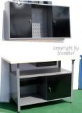 Komplette Werkstatt 2-teilig schwarz abschließbar