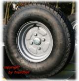 Ersatzrad 10 Zoll für PKW Anhänger 750 kg
