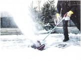 Sonneck Schneefräse Akku 330 Snow Master 18 V