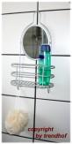 Regal mit Spiegel Ablage Badezimmer Flur Rasierspiegel
