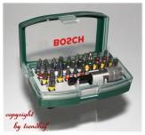 Bosch Bit Satz 32 tlg. Bits Bitsatz Schnellwechsel Bithalter Magnethalter