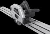 Scheppach Akku Tauchsäge Säge PL55Li inkl. 2 x 70 mm Schiene + Verbinder