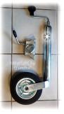 Stützrad + Halter für PKW-Anhänger