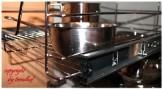 Teleskopschublade für 50 cm Küchenschrank