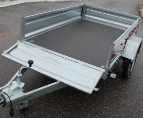 PKW Anhänger Pro 2012 750 kg 13 Zoll Trailer Stützrad Spriegel Plane