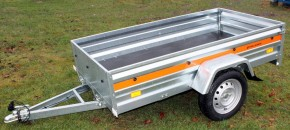 PKW Anhänger ECO 2010 Kippfunktion 750kg 13 Zoll Bereifung
