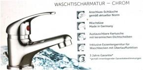 Waschtischarmatur Chrom Einhebel Bad-Armatur