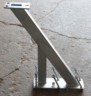 Windenstand Windenbock für Bootstrailer Trailer für 60mm Profil