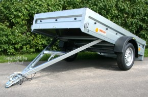 Neptun PKW Anhänger GN126 750 kg kippbar