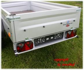 TPV Böckmann PKW Anhänger 750 kg Trailers 13 Zoll Bereifung ohne Zubehör